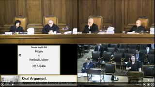 People v. Mayer Herskovic Oral Argument