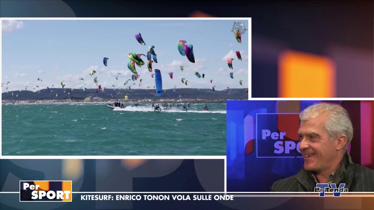 Per Sport - Kitesurf: Enrico Tonon vola sulle onde