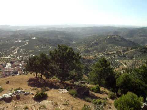 Mar de olivos por Burunchel, Jaén.