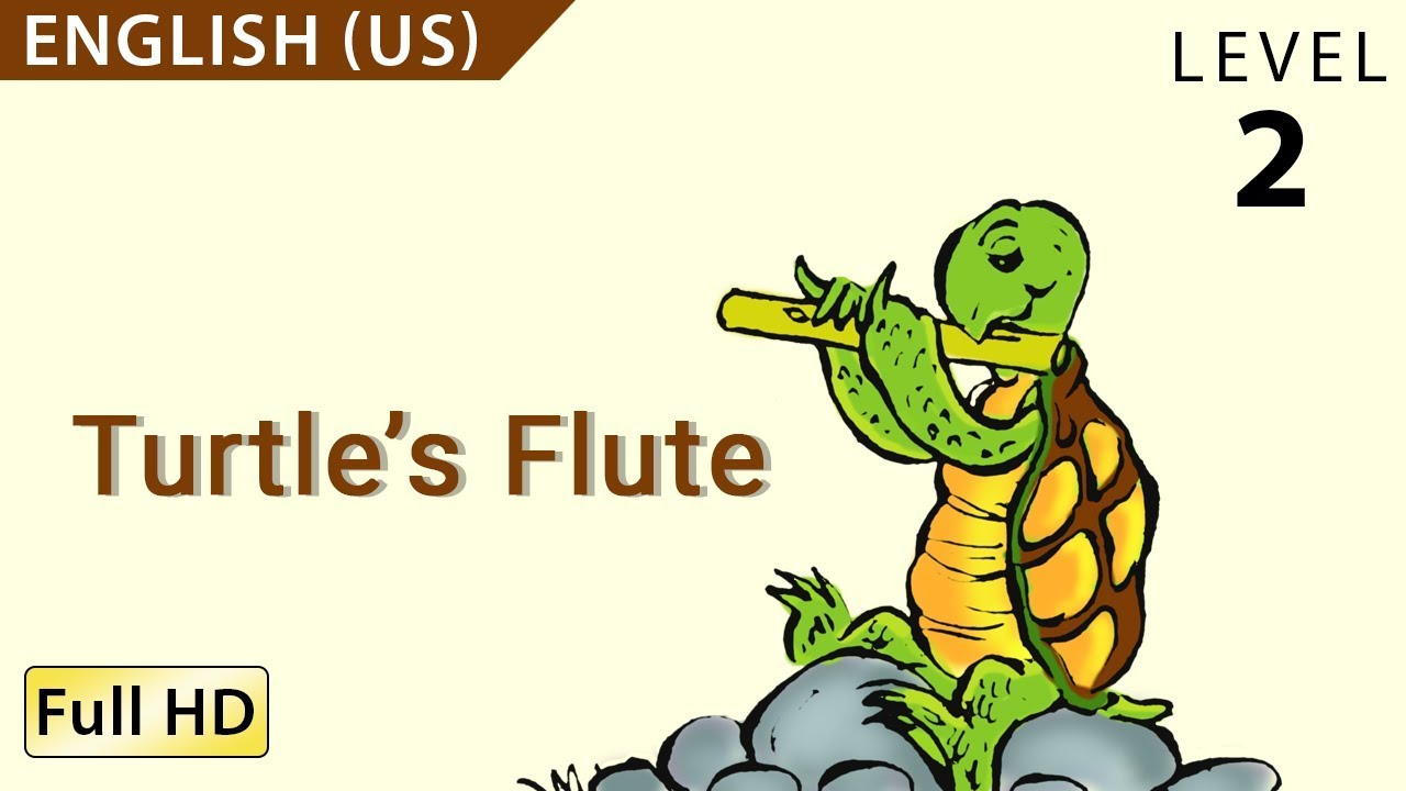 Turtle S Flute Learn English Us With Subtitles Story For Children Bookbox Com Youtube