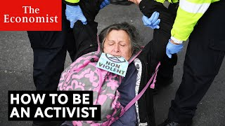 How to be an activist | The Economist