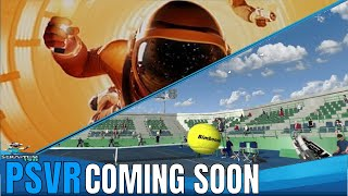 Coming Soon For PSVR | Dream Match Tennis VR | Downward Spiral: Horus Station - Gameplay