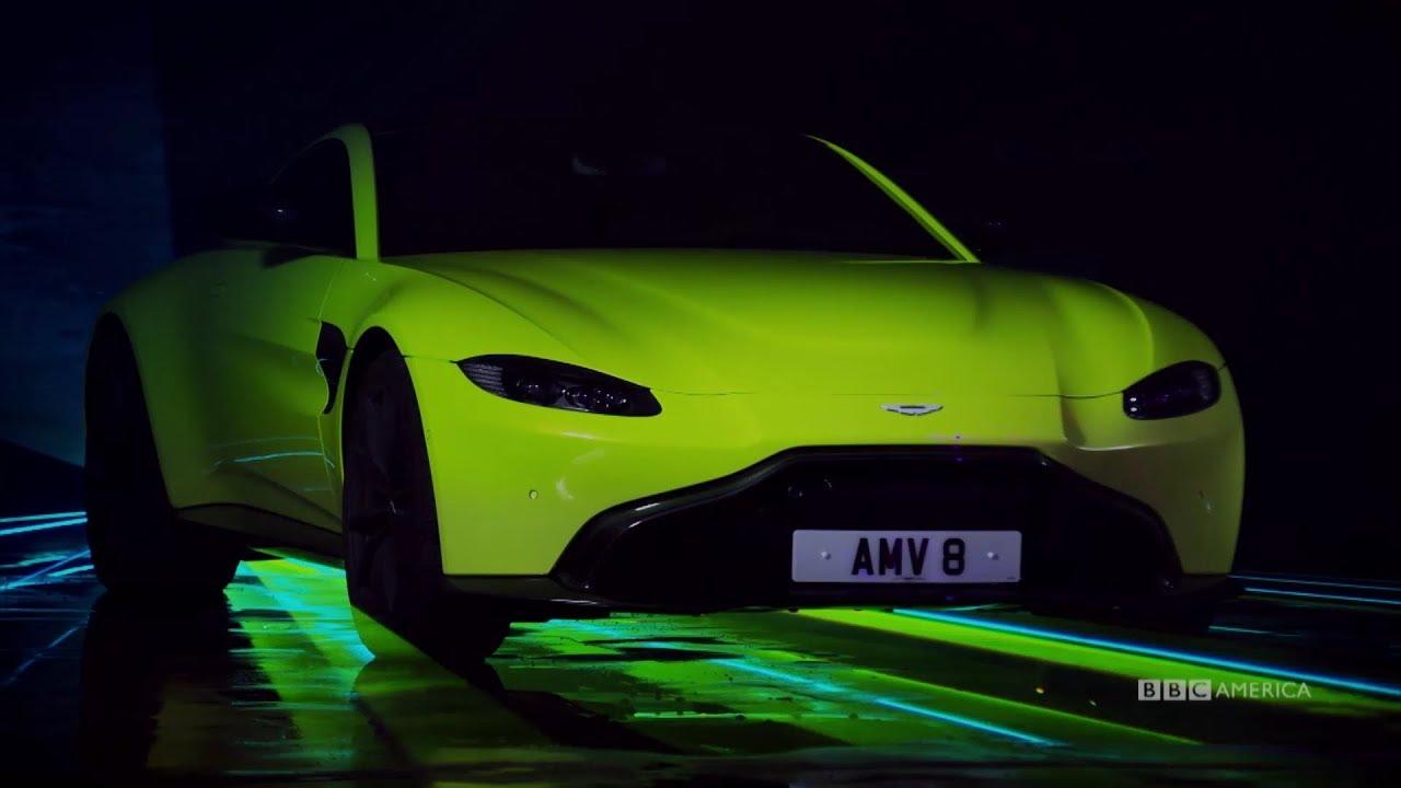 Matt LeBlanc Reviews The Aston Martin V8 Vantage | Top Gear | BBC America