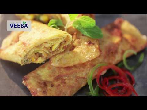 MIXED VEGETABLE TAQUITOS | Chef Sanjeev Kapoor | Veeba. Aaj Kya Khaoge?