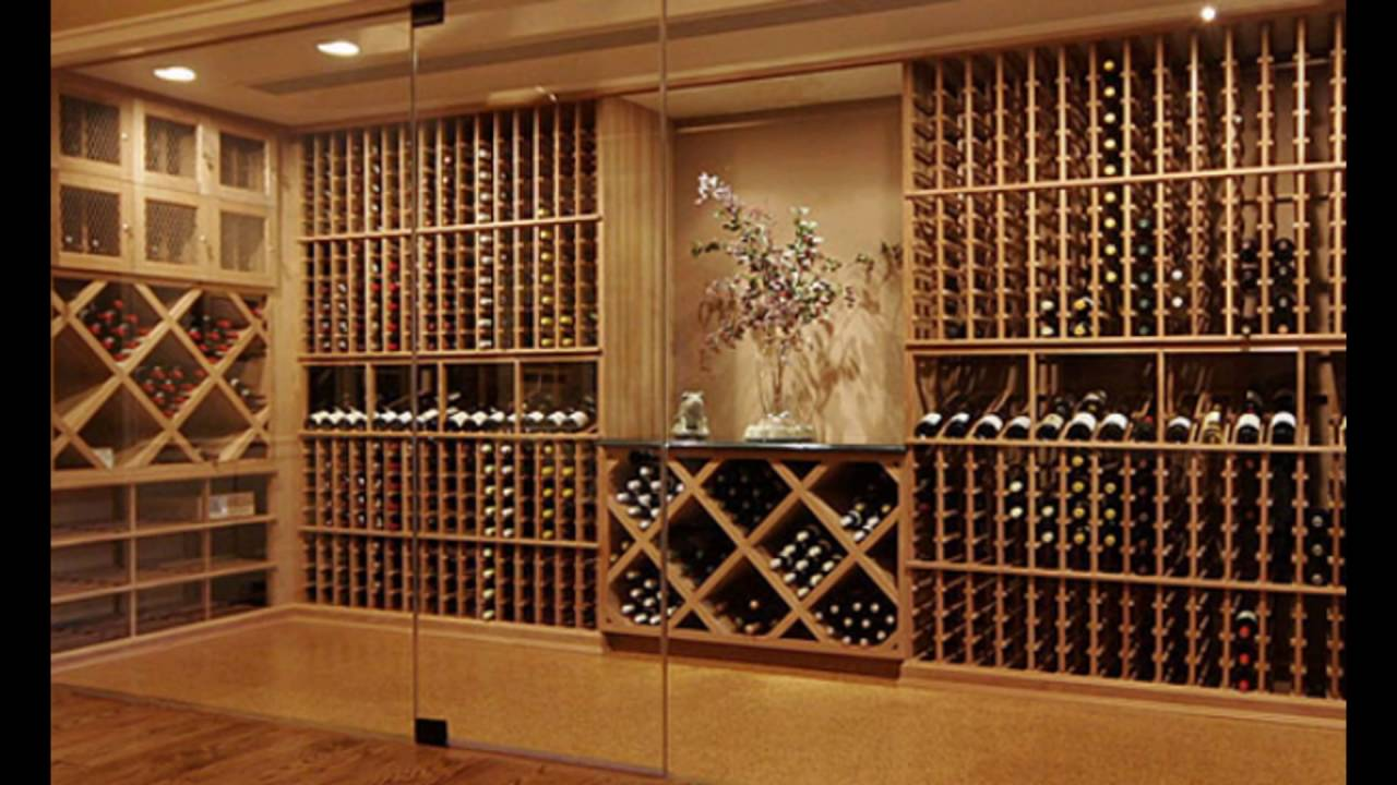 Wine Racks For Home: Wine Cellar Wood Racks