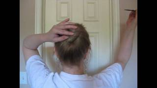 How To Use Hair Sticks In An Updo