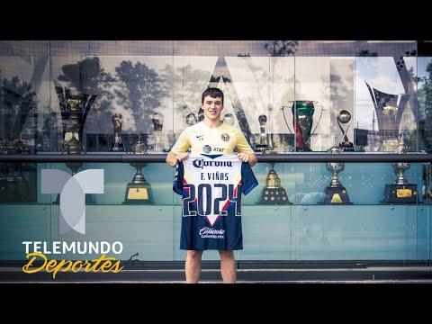 "El América ""amarra"" a Federico Viñas   Telemundo Deportes from YouTube · Duration:  1 minutes 15 seconds"