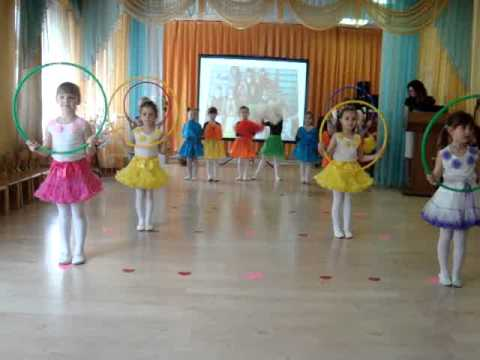 Танец Детство МДОУ №41,муз.рук.Ивлева К.Н.