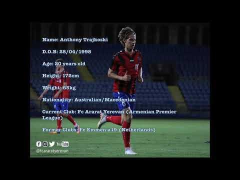Anthony Trajkoski Fc Ararat Yerevan 2018