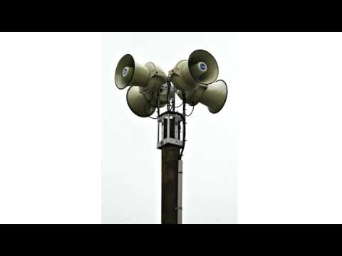 Tsunami Siren Sound Effect #1 I Tsunami Warning Siren Sound Effect I Tsunami Alarm Sound Effect