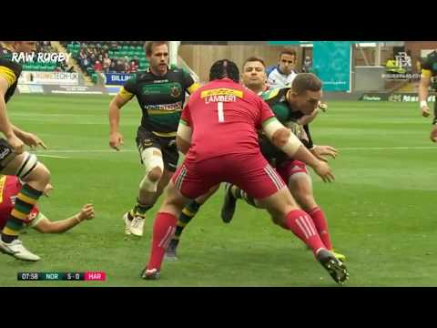George North Performance vs Harlequins || 2017