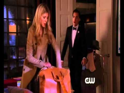 """Gossip Girl 4x04 Touch Eva : """" When Eva Break up with Chuck """" ... And come back to Paris"""