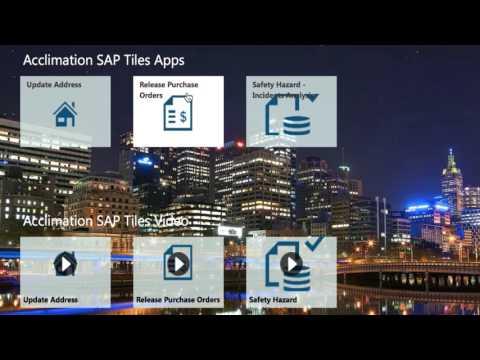LiveTiles for SAP Software