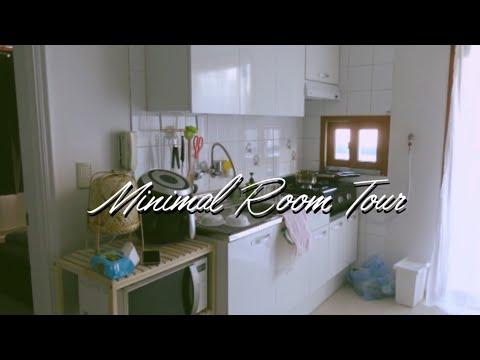 Sub) Minimal Room Tour / 현실적인 투룸 룸투어 태생적 미니멀리스트 남자친구의 이삿날 브이로그 / 랜선집들이