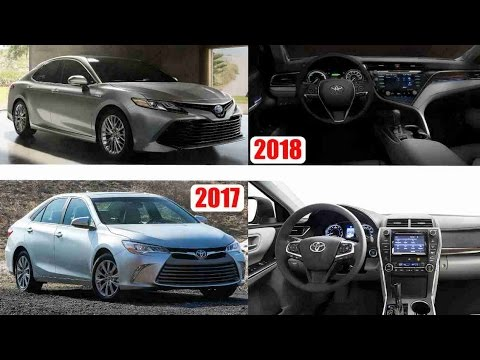 2018 Toyota Camry Vs 2017 Old New