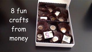 8 Fun Crafty Ideas to Gift Money