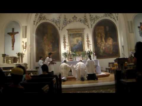 Votive High Mass in Honor of Our Lady  Part 3 - Our Lady of Peace Church Manhattan