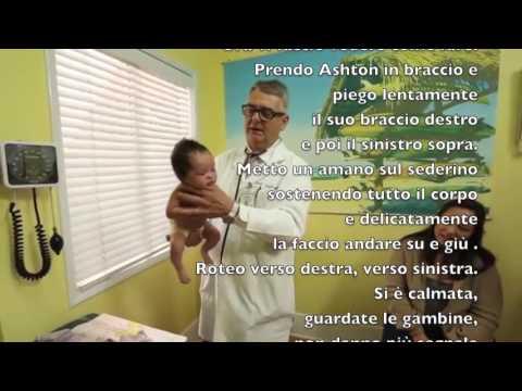 Come calmare un neonato che piange