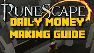 Runescape: DAILY MONEY MAKING GUIDE ROUTINE - Over 1.7M Per Day - iAm Naveed Runescape 2016