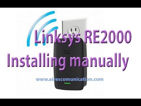 linksys re2000 range extender manually install setup youtube rh youtube com linksys re2000 manual setup linksys re2000 manual configuration