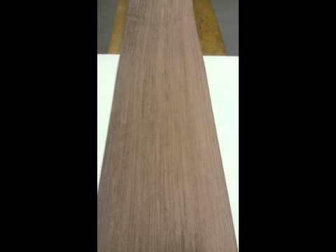 Шпон Бубинга радиальный 3100х270х0,6 мм