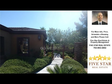 8250 GRAND CANYON Drive, Las Vegas, NV Presented by Five Star Real Estate & Property Management.