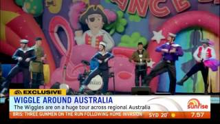 The Wiggles Announce 2017 Wiggly Christmas Big Show - Sunrise - 4th July, 2017