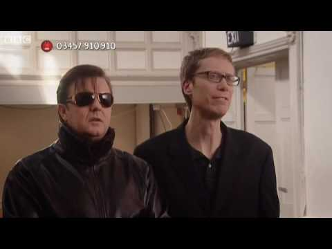 Ricky Gervais and Stephen Merchant - Red Nose Day 2009 - Comic Relief  - BBC
