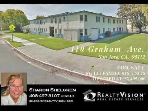 110 Graham Ave. San Jose CA 95112  Multi-Family 16 Units