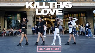[KPOP IN PUBLIC CHALLENGE] BLACKPINK (블랙핑크) - 'KILL THIS LOVE' Dance Cover Contest With Kia