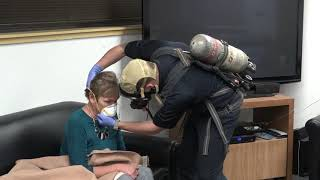 Mask shortage has firefighters looking to other solutions