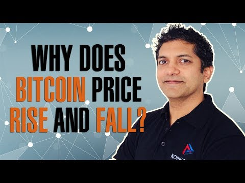Why Does Bitcoin Price Rise And Fall?