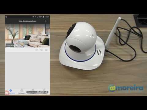 Camera IP P2P WIFI Instalação e Configuração