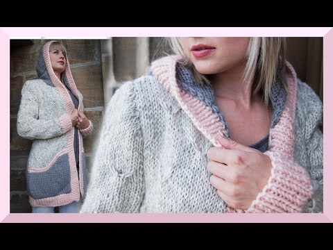 JACKE CARDIGAN STRICKEN ANLEITUNG FRÜHLING 2016 ? We are Knitters ?