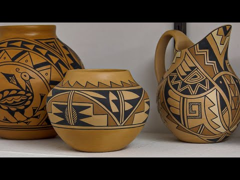 Native American Pottery Making