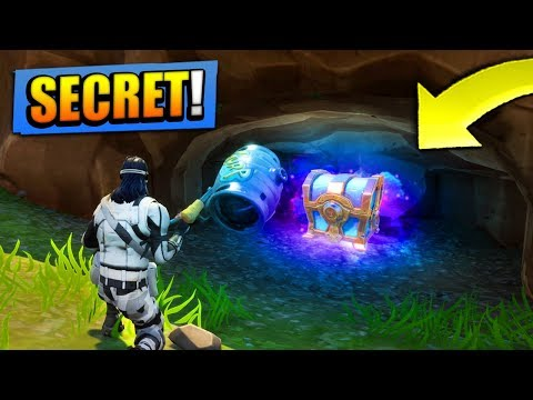 SECRETS CHESTS *FOUND* in Fortnite: Battle Royale! (+ LOCATIONS
