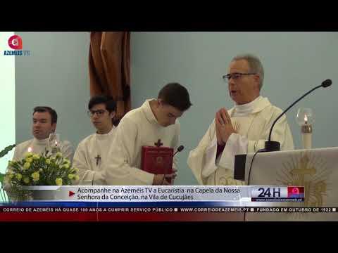 Missa de Cucujães transmitida na Azeméis FM/TV