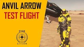 Star Citizen Anvil Arrow flight and combat