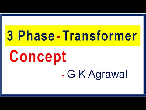 3 Phase Transformer & its delta star working concept