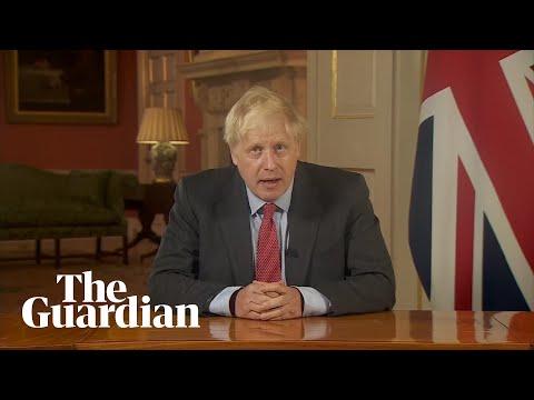 Coronavirus: Boris Johnson announces new measures in TV address – watch live
