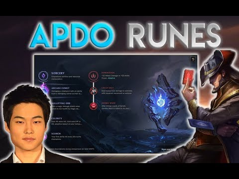 APDO'S SEASON 8 RUNE PAGES – Every mid lane covered ft. Crown, BDD, Faker, Ucal, Bjergsen, Pawn.