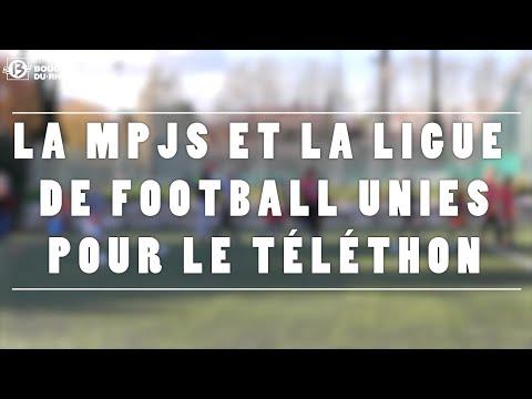 La MPJS d'Aix-en-Provence et la Ligue de football unies pour le Téléthon