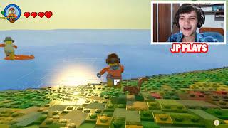 TSUNAMI ATACOU A PRAIA no LEGO !