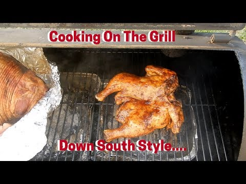 Lick Your Lips Sunday Dinner Cooked On The Grill.....Good Ole Pot Liquor!!