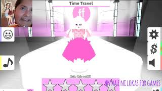 A crazy night in Paris 💕💜👠🛍 Roblox-Fashion Famous