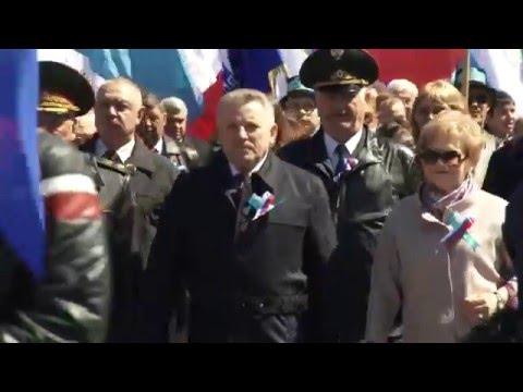 Праздник Весны и Труда в Хабаровске