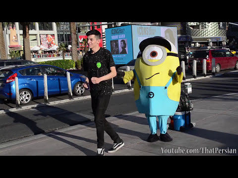 Running Man Challenge In Las Vegas!