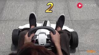 ninebot mini pro by segway go kart kit review