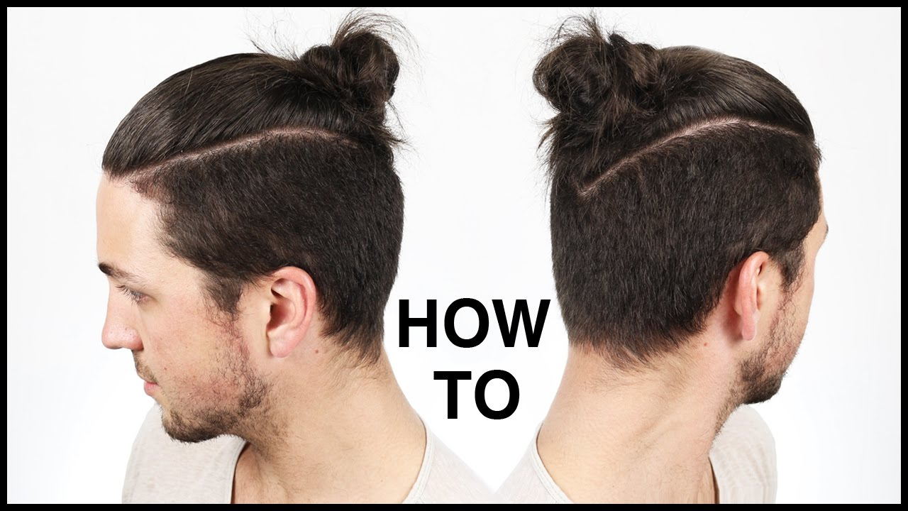 How To Tie The Perfect Man Buntop Knot Mens Hairstyle Ideas