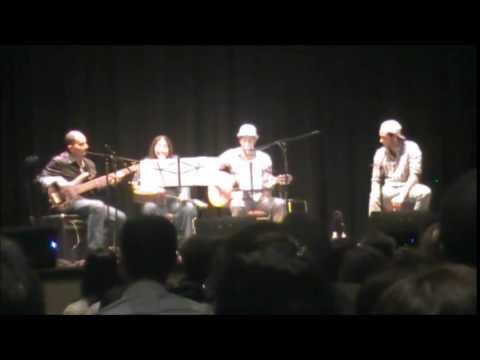 Emilio lovera en Calgary Opening Show. Norka, Arturo, Juan y Mario